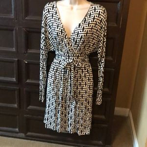 Tart faux wrap dress
